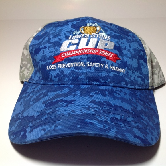 Lowes Store Cup Champ Hat EUC